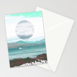 Throwing Seaweed Stationery Cards