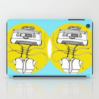 cassette iPad Cases featuring Cassette by Molly Yllom Shop