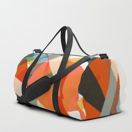 Abstract Fish Duffle Bag