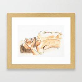 Nilo Framed Art Print