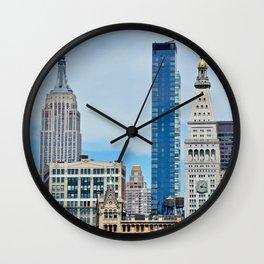 Heights and Sights NYC Wall Clock