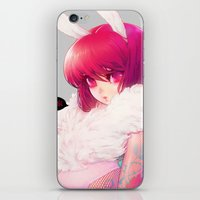barachan iPhone & iPod Skins featuring synthetic by barachan