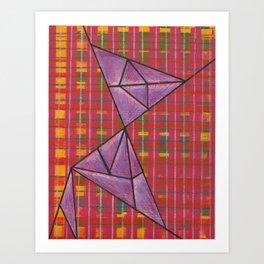 warp and weft // .02 Art Print