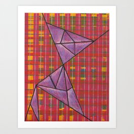 warp and weft // .02 Art Print