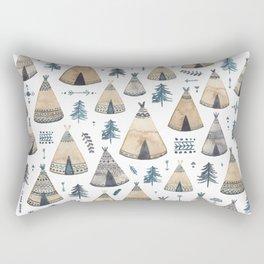 Tepees! Rectangular Pillow