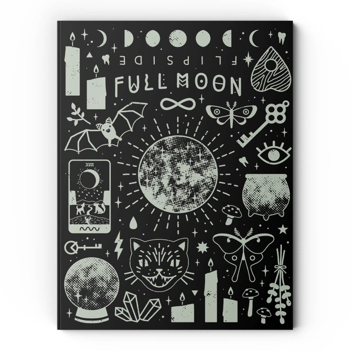 No. 4.3 + Flipside Full Moon Edition Art Quarterly