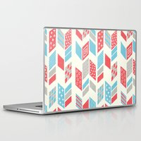 arrows Laptop & iPad Skins featuring Arrows by MarikoSG