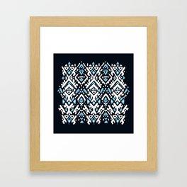 Aztec ornament Framed Art Print