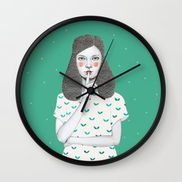 Lorena Wall Clock