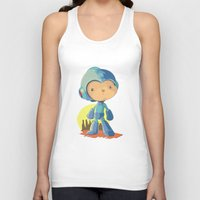 megaman Tank Tops featuring Megaman by Rod Perich