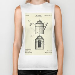 Coffee Percolator-1894 Biker Tank