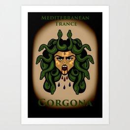 Gorgona: Mediterranean Trance Art Print