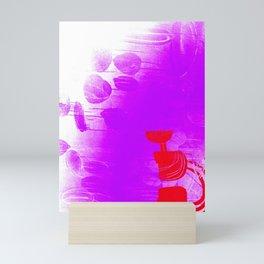 untitled (purple wave) Mini Art Print