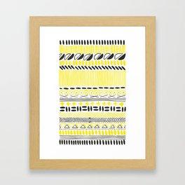 folklore 8 Framed Art Print