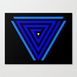 Vainessum - blue integration Canvas Print