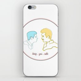 Keep You Safe - Ste & Brendan iPhone Skin
