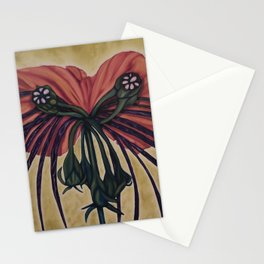 Batwing Orchid Stationery Cards