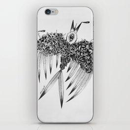 """ Spring"" (b&w) iPhone Skin"