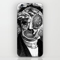 meat iPhone & iPod Skins featuring MEAT by DIVIDUS DESIGN STUDIO