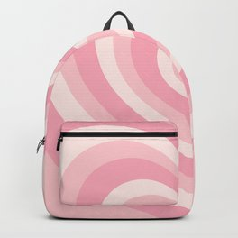 Pink Love Hearts  Backpack