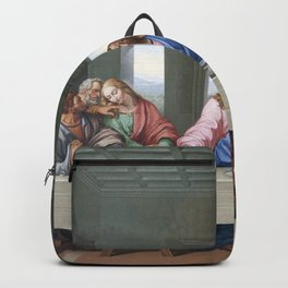 The Last Supper by Leonardo da Vinci Backpack