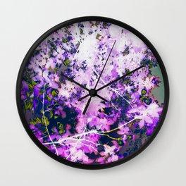 Lavender Lullabies Wall Clock