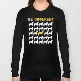 Akita Inu Dog Owner Be Different Long Sleeve T-shirt