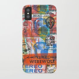Stereo Werewolf No.1 iPhone Case