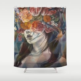 Midnight Muse Shower Curtain