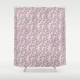 Dakota Prairies: Prairie Rose Shower Curtain