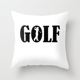 Golf sport Throw Pillow