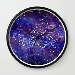 Star Map IV Wall Clock