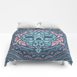 Skull Patterns Comforters