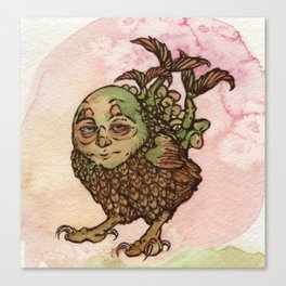 Potaowl Canvas Print