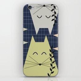 A few happy cats iPhone Skin