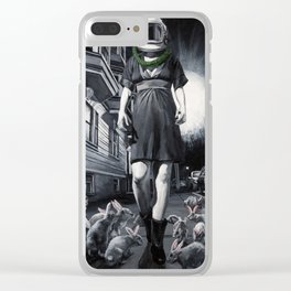 Go Ask Alice Clear iPhone Case