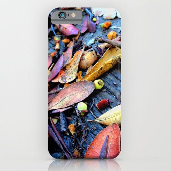 Leaves of a Strawberry Tree iPhone & iPod Case