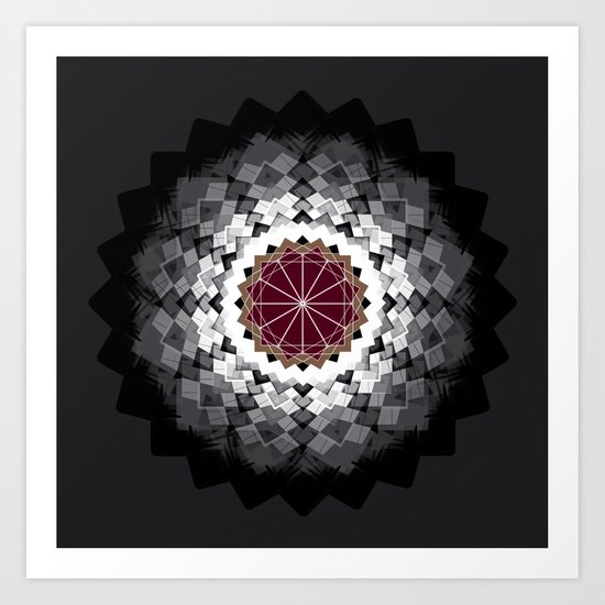 Nexus N°36bis Art Print