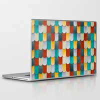 mermaid Laptop & iPad Skins featuring Mermaid by Diogo Verissimo