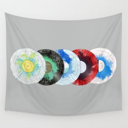 vinyl collecton Wall Tapestry