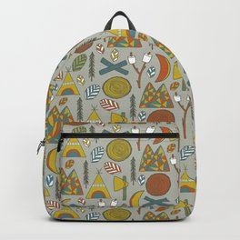 Out in the Woods Camping Backpack