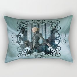 Dark Emma Rectangular Pillow