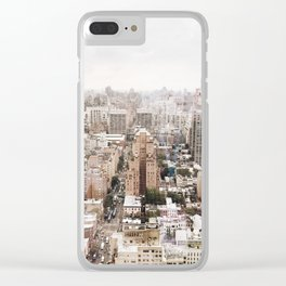 Rosy New York Clear iPhone Case