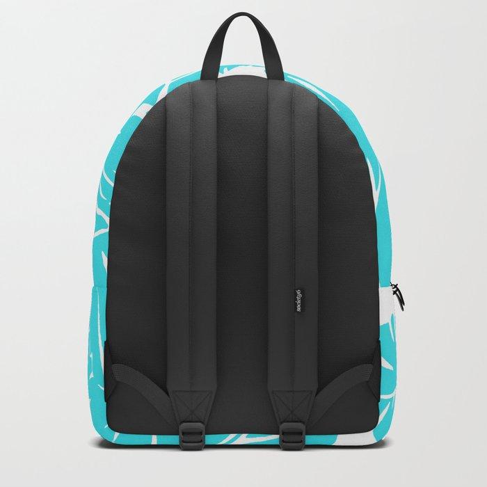 PALM LEAF BLUE Backpack