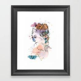 Mountain Head Framed Art Print