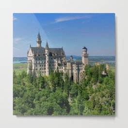 Neuschwanstein_20171101_by_JAMFoto Metal Print