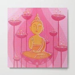 Buddha G Metal Print
