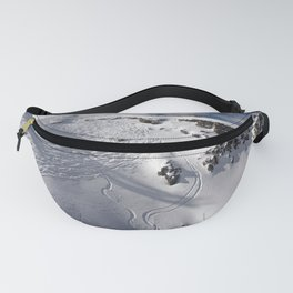 Ski Slopes Fanny Pack