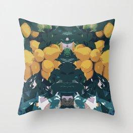 Spiked Lemonade Throw Pillow
