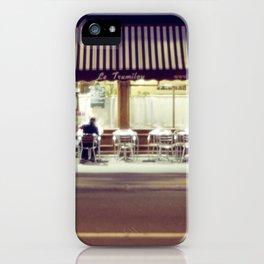 Paris by Night IV iPhone Case